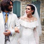 Церковное венчание Шарлотты Казираги и Дмитрия Рассама в замке на вершине горы
