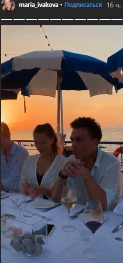 Мария Ивакова и Никита Ефремов на свадьбе Регины Тодоренко и Влада Топалова