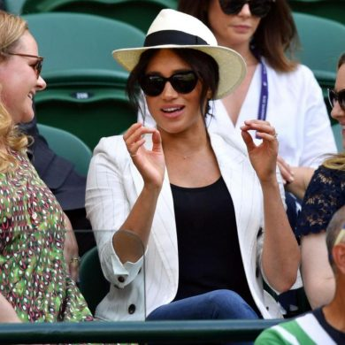 """""""Обнаглевшую Меган стоило бы отправить обратно в Америку сниматься в сериалах"""" - мнение зрителей Уимблдона"""
