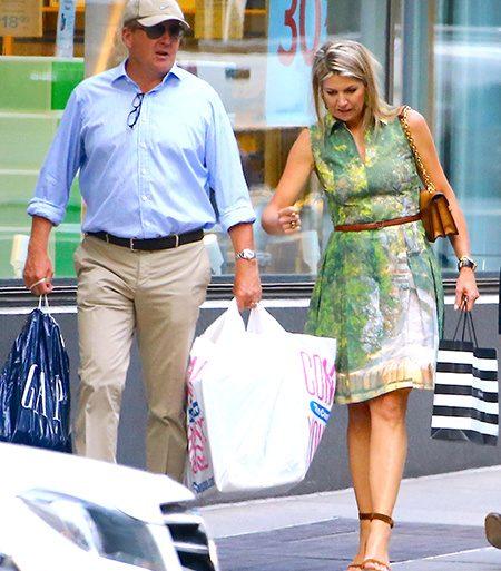 Все могут короли - даже пройтись пешком по нью-йоркским магазинам