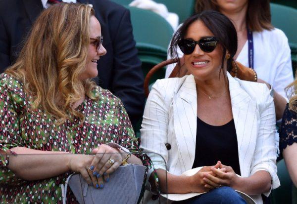 Уимблдонский турнир и Меган Маркл, болеющая за Серену Уильямс
