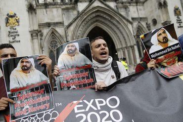 """""""Спонсор проституции и рабства"""" - как вчера ожидали появления эмира Дубая"""
