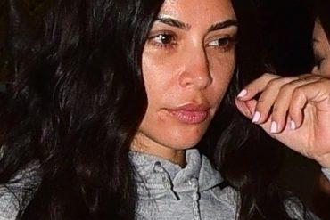Ким Кардашьян показала себя без косметики
