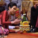Недавно женившийся король Тайланда теперь официально и любовницу признал (видео)