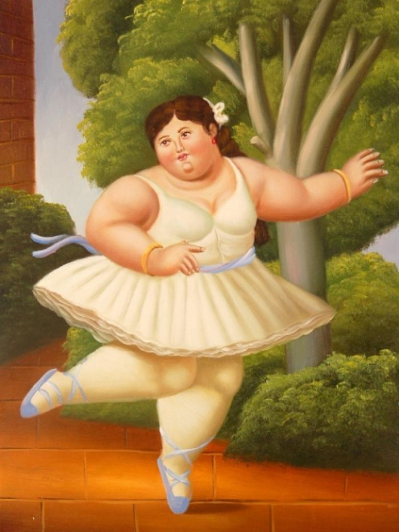 Ромашками дню, картинки толстух прикол