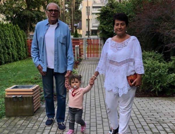 У Эммануила Виторгана родилась третья дочка