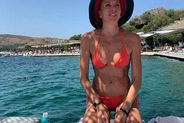 Месяц поздних поцелуев, Поздних роз и молний поздних! - Светлана Бондарчук в Турции