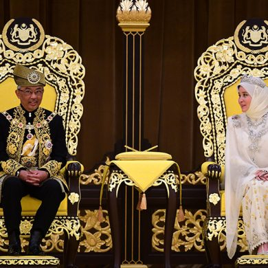 В Малайзии состоялась коронация нового короля, сменившего отрекшегося от престола Мухаммеда Фариса