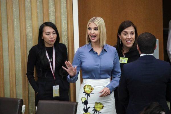 Торчащие соски Иванки Трамп срывали работу Генассамблеи ООН