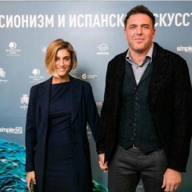 Нинидзе и Виторган позировали фотографам, сияя от удовольствия