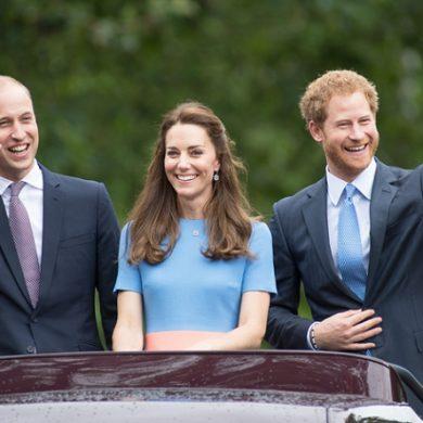 Как принц Гарри случайно ущипнул Кейт Мидлтон за попу и чуть не умер со стыда