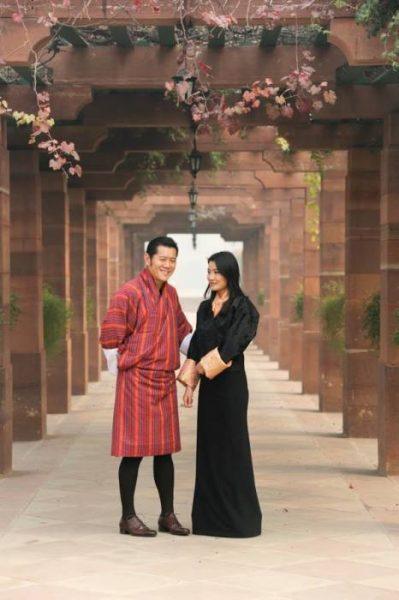 Молодые монархи из Бутана стали самыми яркими гостями императора Нарухито