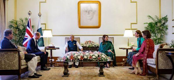 По стопам принцессы Дианы - Уильям и Кейт встретились с премьер-министром Имран Ханом