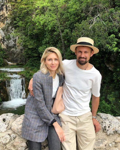 Сергей Семак снова женился на своей экс-супруге