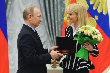 """""""Дорогой наш"""": Валерия поздравила Путина с днем рождения"""
