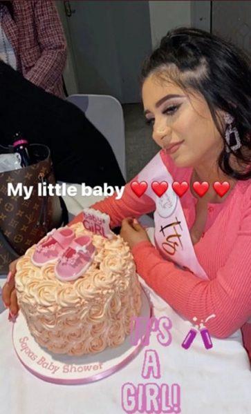 Куда она спешит?.... - 17-летняя сестра Зейна Малика беременна