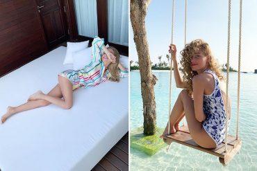 Кристина Асмус и Янковский отдыхают на Мальдивах (видео)