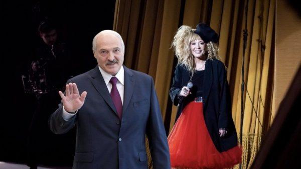 Президент-романтик: Лукашенко прислал Пугачевой конфеты на сцену