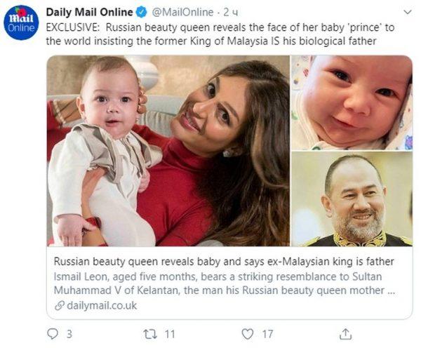 """""""Красивый в папу, умный - в маму"""": Воеводина опубликовала снимок сына"""