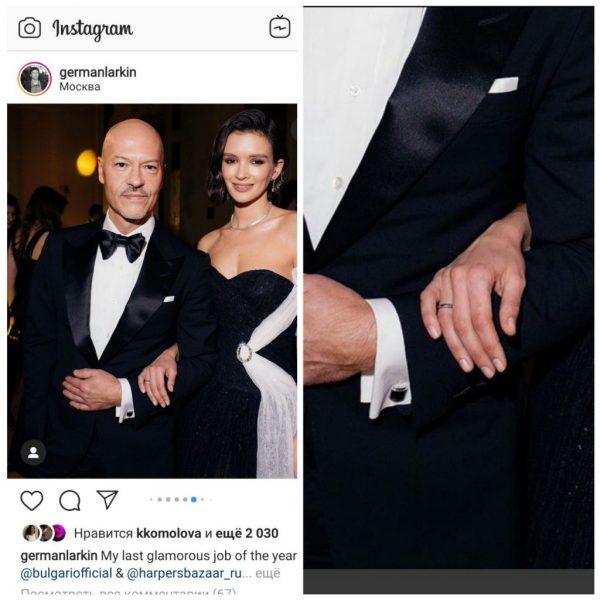 Показатель любви мужчины: Чье кольцо меньше - Паулины Андреевой или Лопыревой