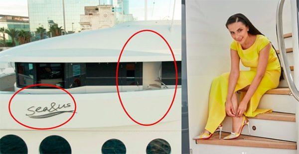 Алексей Навальный рассказал о яхте и джете Наили Аскер-заде, которые ей подарил любовник Костин