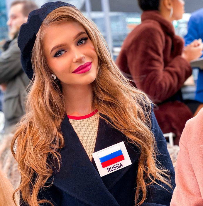 Россиянка вошла в число 12-и самых красивых девушек мира