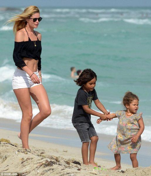 Даутцен Крез показала детей - совершенно не похожи на маму-красавицу