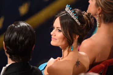 Что будет.. Принцесса София засветила свою татуировку