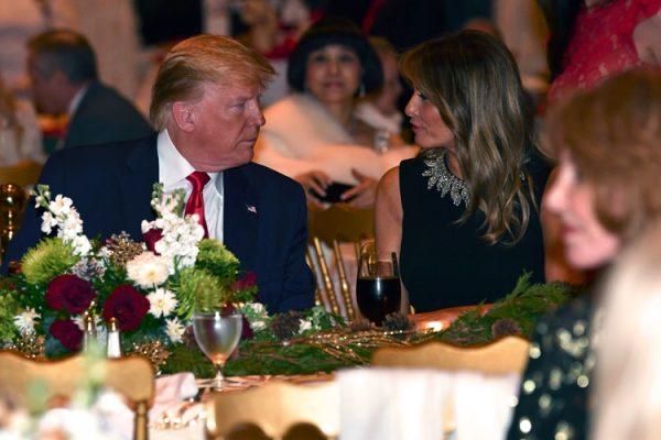 Овечкин и Шубская остались довольны гостеприимством Трампа
