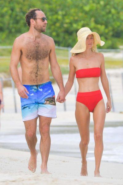 Джеймс Мидлтон с невестой отбросили на пляже условности цивилизации, а папарацци только рады