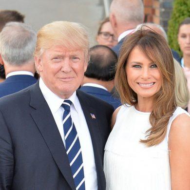 Трамп сказал, что Мелани не плакала бы, случись с ним что-то плохое
