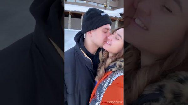 Злопыхатели, считающие роман Бузовой фейком, - Смотрите, как ее целует Давид (видео)