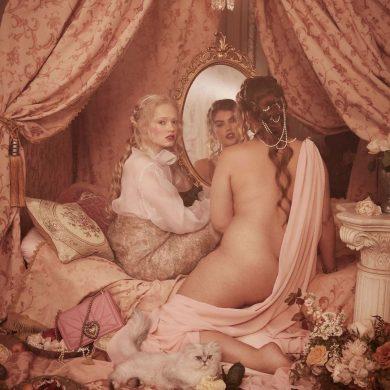 Новая рекламная компания Dolce & Gabbana для толстушек - очень сексуально