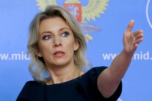Марию Захарову царапали, толкали и пихали грузинские журналистки