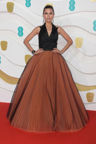 Выкарабкалась целой из лап каннибалов - Боня появилась на кинопремии BAFTA в платье за 400 000