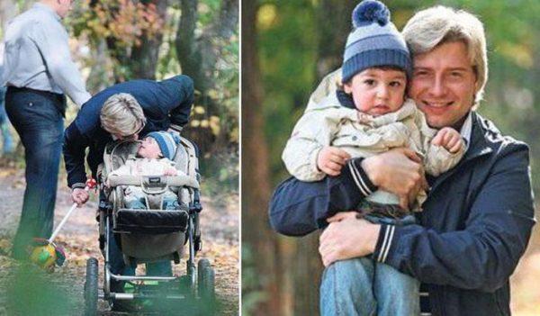 Борис Шпигель поделился снимком внука, сына Николая Баскова