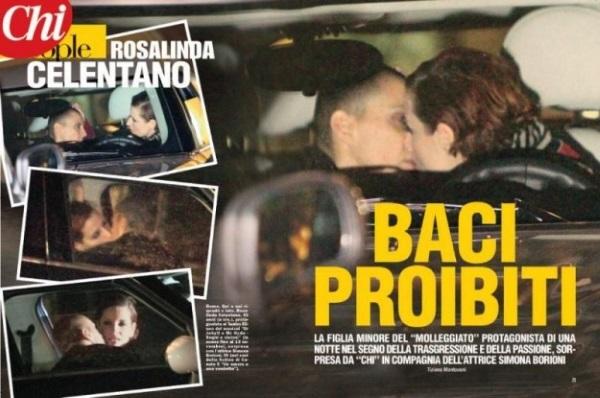 Дочка Челентано встречалась с Моникой Белуччи, жила среди бездомных и брилась наголо