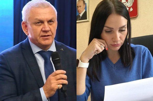 Видео дня: Сексуальный мэр Южно-Курильска пристает к молодой подчиненной во время конференции