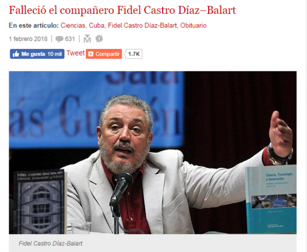 Джастин Трюдо - родной сын Фиделя Кастро