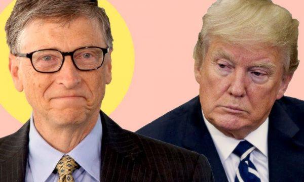Противостояние между Трампом и Биллом Гейтсом