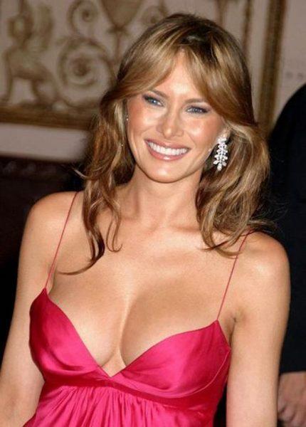 Ретро-снимки нежной Мелани Трамп - ей сегодня 50