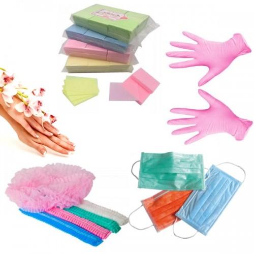 перчатки и маски