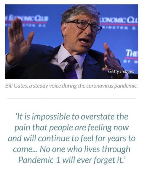 Биллу и Мелинде Гейтс больно оттого, что бедным нечего есть - При этом, он настаивает на продолжении карантина