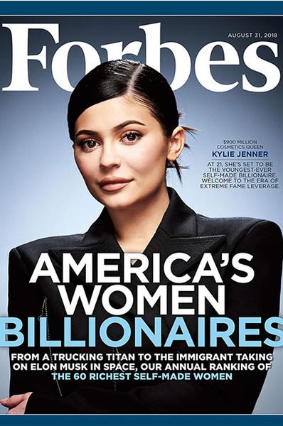 Кайли Дженнер высказалась. Ее лишили звания самой молодой миллиардерши в мире