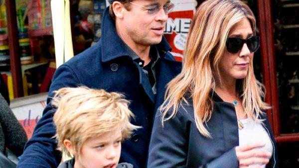 """Дочь Брэда Питта призналась, что хочет называть Энистон """"мамочкой"""""""