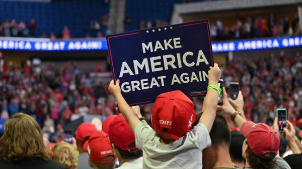 Красавчик! Митинг Трампа в Талсе стал триумфом - трибуны пели и выли
