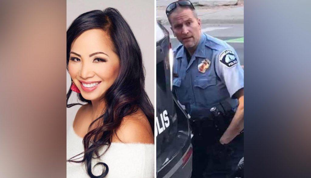 Жена задушившего Флойда американского полицейского подала на развод