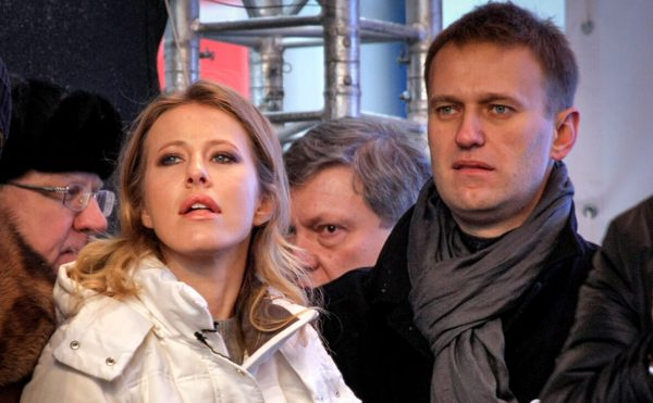 """Ксении Собчак импонирует Навальный: """"Я люблю жесткий... Мне кажется, он может"""""""