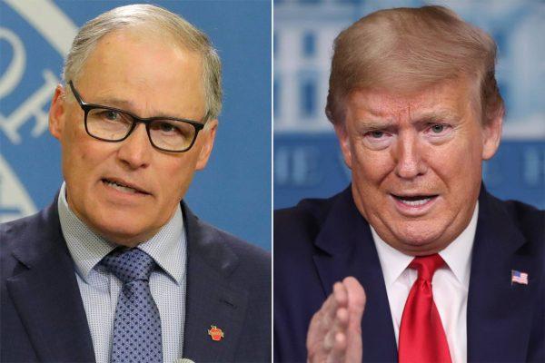 Губернатор-демократ штата Вашингтон критикует Трампа за отказ навязывать маски людям
