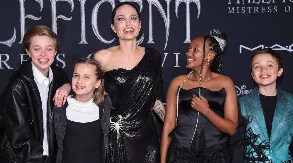 О карантине, детях и домашних питомцах: Анджелина Джоли дала интервью впервые за долгое время